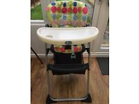 Chicco high chair in good used condition.