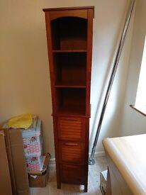 Tall wooden unit