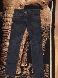 Size 8 river island skinny jeans