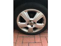 """15"""" Vauxhall corsa wheels"""