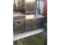 Commercial Counter bench fridge counter pizza prep fridge takeaway shop fridge cafe shop fridge