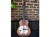 Fender brown Derby resonator