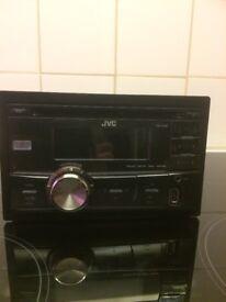 Van JVC stereo (double din)