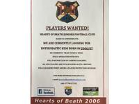 Players wanted born 2006
