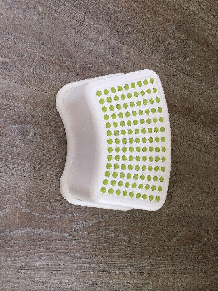 Ikea green toddler step