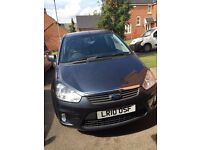Grey Ford C-Max Zetec 1.6 Petrol. Excellent Condition