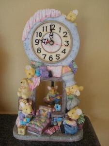 horloge sur table pour chambre de bébé 11 pouces de haut
