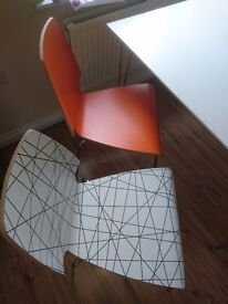 Four Ikea Vilmar chairs - will sell individually - see ad.