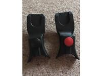 Maxi Cosi to silver cross car seat adapters