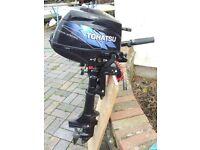 Outboard 4 stroke Tohatsu 3.5 horsepower