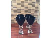 Set of 4 LSA Wine Glasses