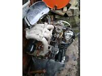 Ford Transit 2.5 diesel engine and gearbox