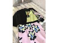 Dress with bolero jacket