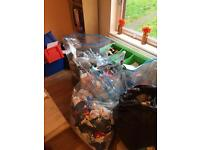 5 bags of boys cloths newborn to 2 years old