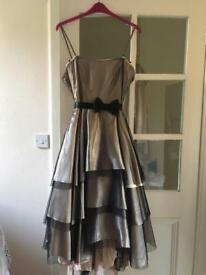 Gold Jasper Conran prom/bridesmaid dress - size 16