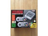Nintendo SNES Classic Mini - Brand New & Boxed