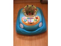 Baby walker car with lights and sounds