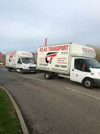 Atlas transports cheap removals and storage