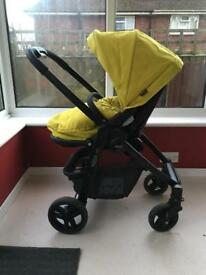 GRACO Evo Pushchair / pram & carry cot