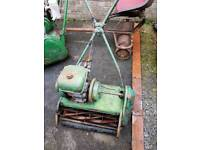 Old mower with a bsa engine