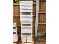 Bathstore Tall White Towel Radiator 1700 x 500 New and Unused