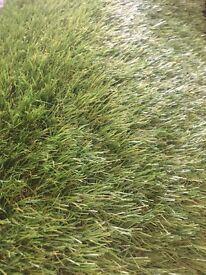 Artificial grass off-cuts