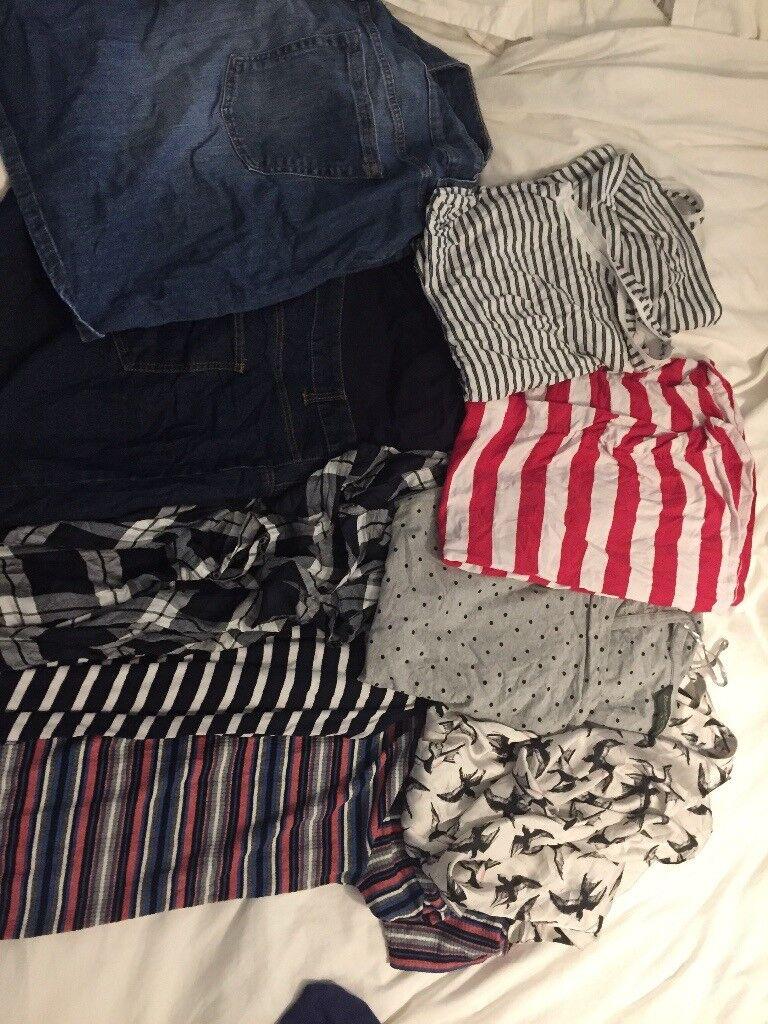 f99e05d1fc3 Summer maternity clothes bundle size 20 22