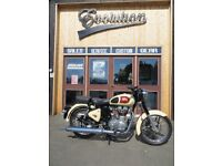 EVOLUTION MOTOR WORKS - 2015 Royal Enfield Classic 500. Showroom condition only 1520 miles on clock
