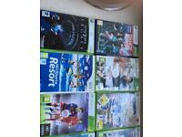 11Xbox games + 1Wii game