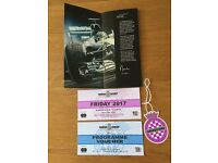 Goodwood limited Festival Of Speed ticket for Friday 30th June, admission/programme/entry grandstand