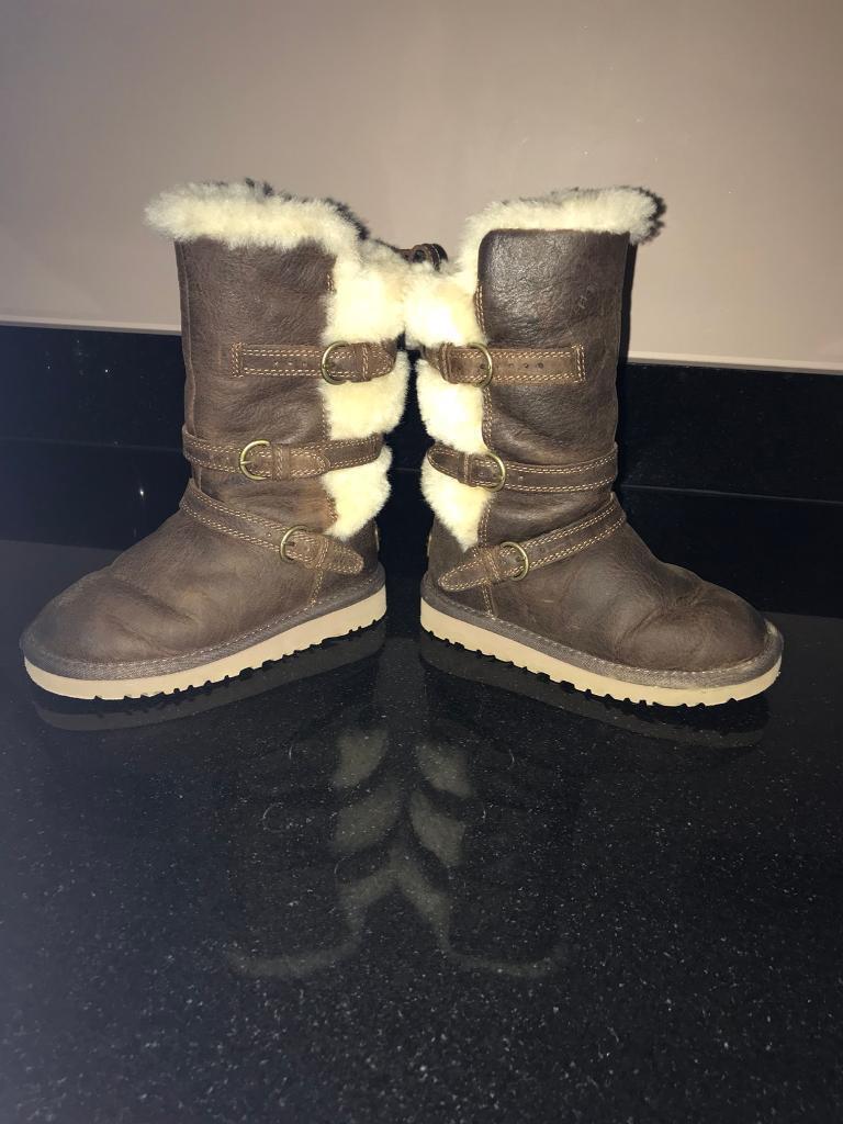 Genuine Ugg Maddi infant boots, size UK9