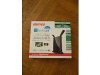 Buffalo WZR-600DHP Dual Band Wireless Router