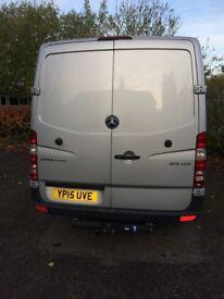 Mercedes Silver 313 CDI Van