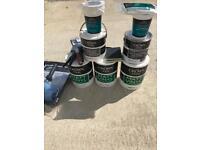 Decorating materials paint/ paint brushes etc