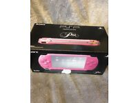 Psp boxed in pink