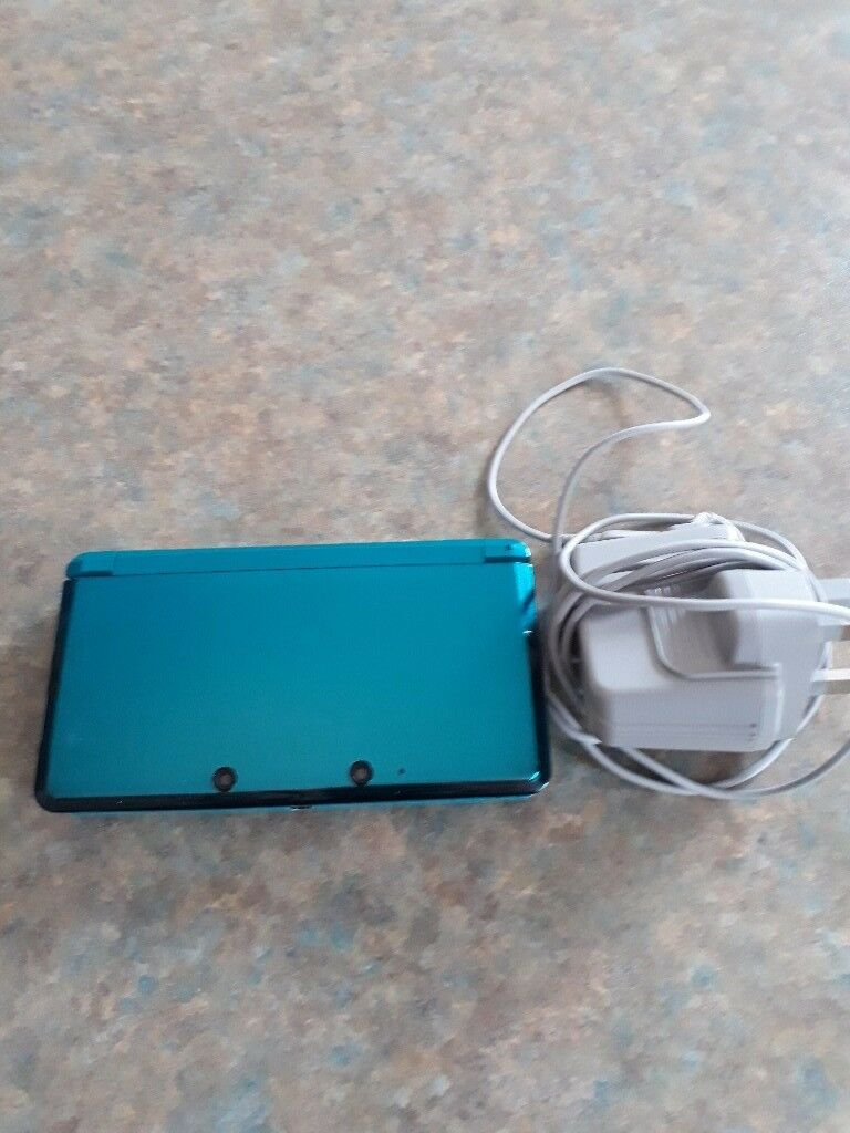 Nintendo 3ds plus games as new.