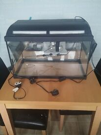 60l Fish tank heater filter lighting