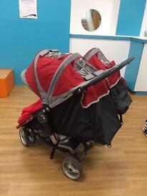Baby Jogger City Mini Double Pram Strollet