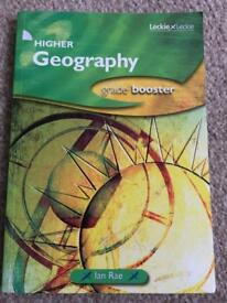 Higher Geography Grade Booster