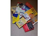 Childcare study books X10 variety of titles