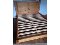 Solid Pine Kingsize Low End Bed Frame 5FT 150x200, New from Box,