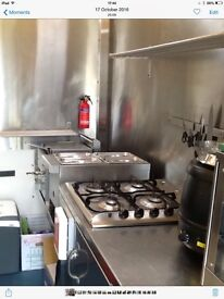 Burger van for sale excellent condition,gas certificate everything you need to get started