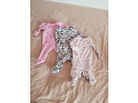Baby girl clothes bundle first size/ 0-3months