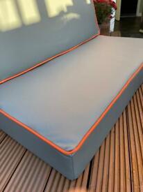 Self build motorhome upholstery