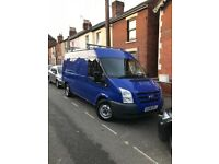 Ford transit t300 mwb and roof 4700ovno low mileage