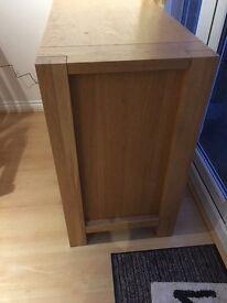 M&S Sonoma 2-Door Solid Oak Veneer Sideboard