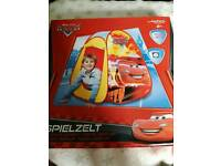 Childrens cars tent