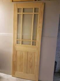 Selection of 6 Pine doors