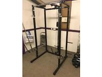 SQUAT/BENCH PRESS/CABLE PULLY MULTI RACK