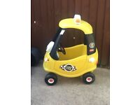 Cozy coupe taxi